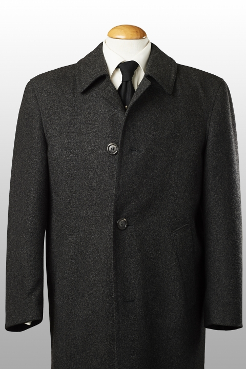 Overcoat mid-grey